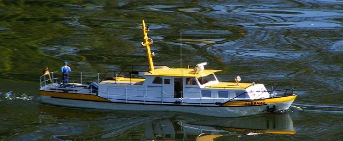 Stromaufsichtsboot \'Bussard\'