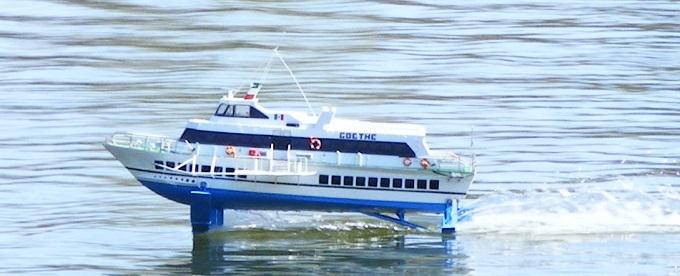 Tragflächenboot \'Goethe\'