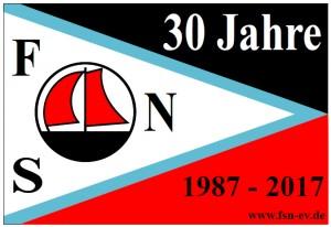 Flagge 30 Jahre